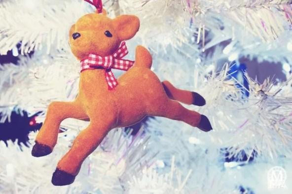 Reindeer Christmas Ornament