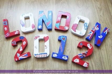Decopatch London 2012 Letters