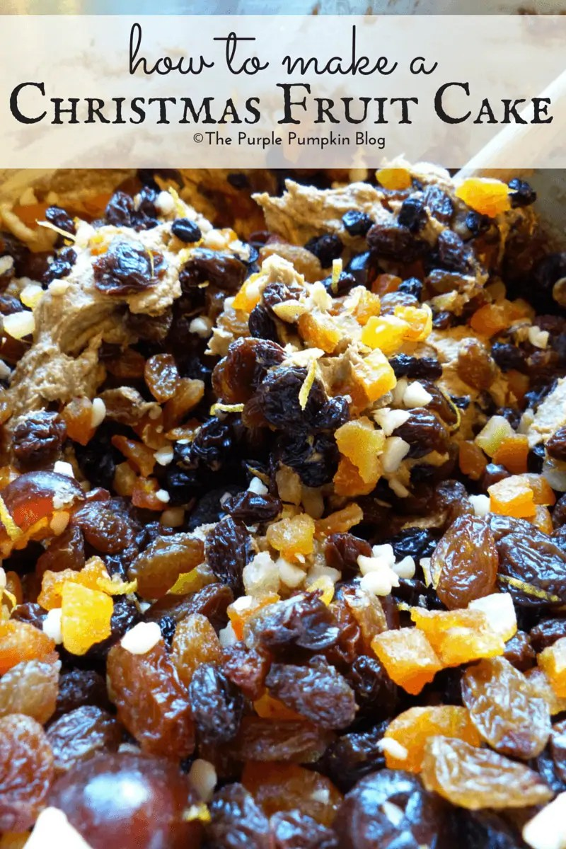 how to make fruit cake from scratch