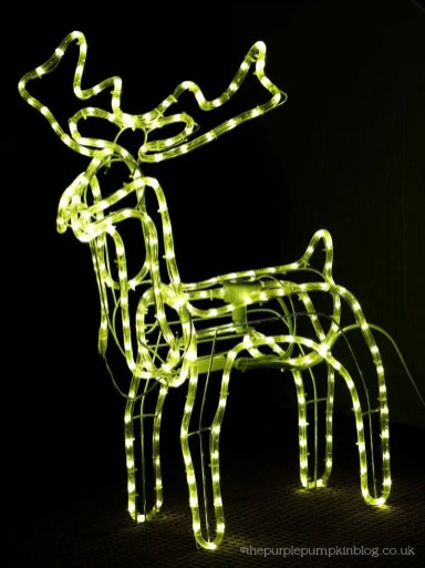 reindeer outdoor light