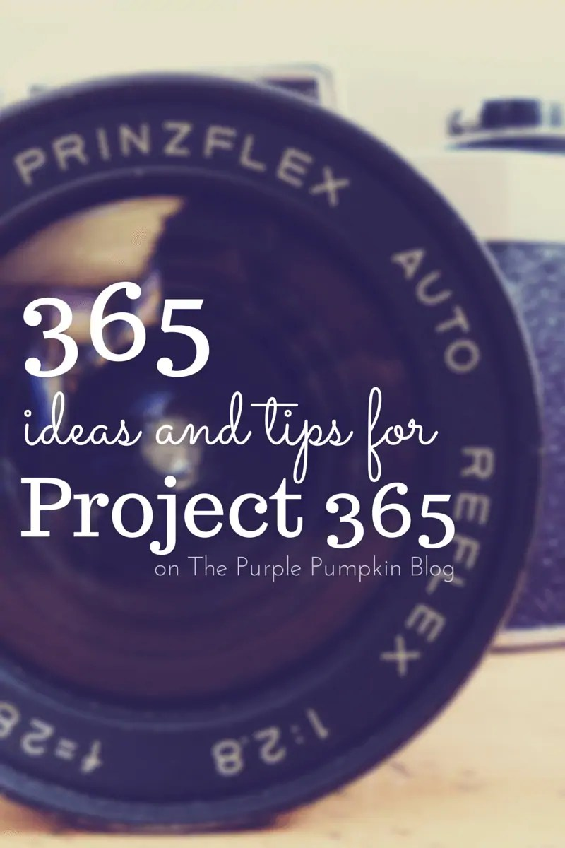 365 Ideas and Tips for Project 365 : 2015