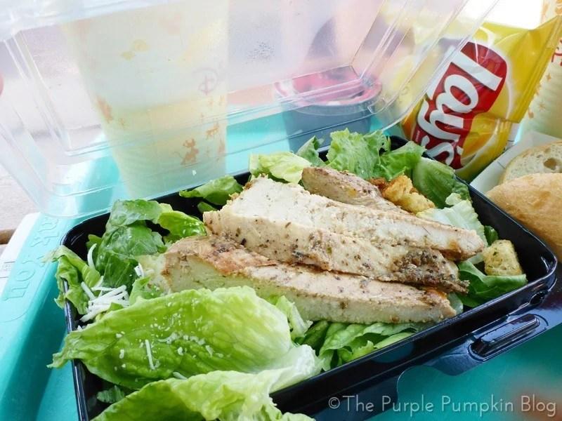 Caesar Salad with Chicken- Blizzard Beach - Disney Water Park
