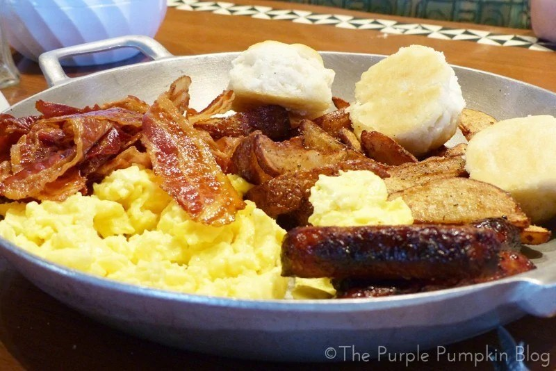 Breakfast Platter at 'Ohana Character Breakfast