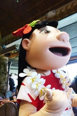 Lilo & Stitch at 'Ohana Character Breakfast