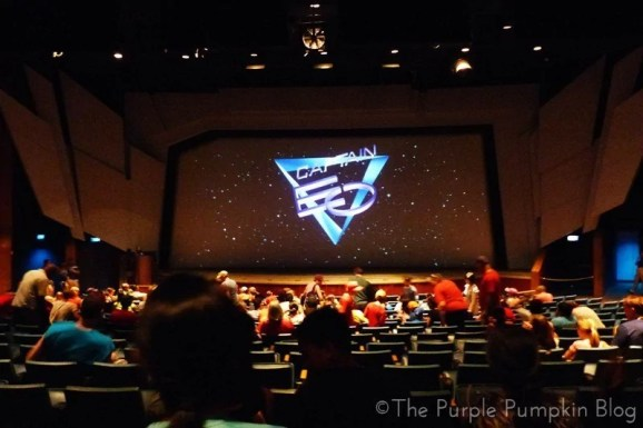 Captain EO at Epcot