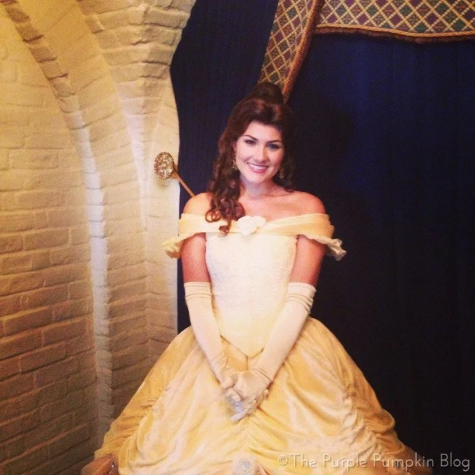 Meeting Belle at Akershus Royal Banquet Hall