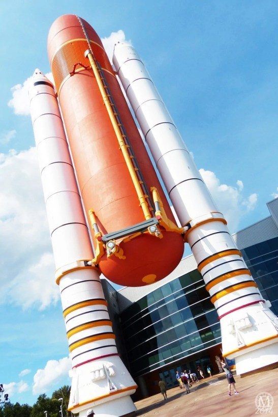 Space Shuttle Atlantis Exhibit at Kennedy Space Center