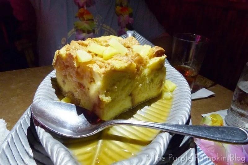 Dessert at Spirit of Aloha Dinner Show