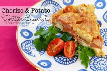 Chorizo and Potato Tortilla Espanola