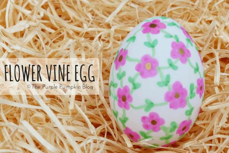 Flower Vine Egg