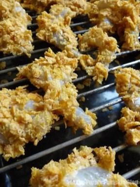 How To Make Cornflake + Coconut Shrimp