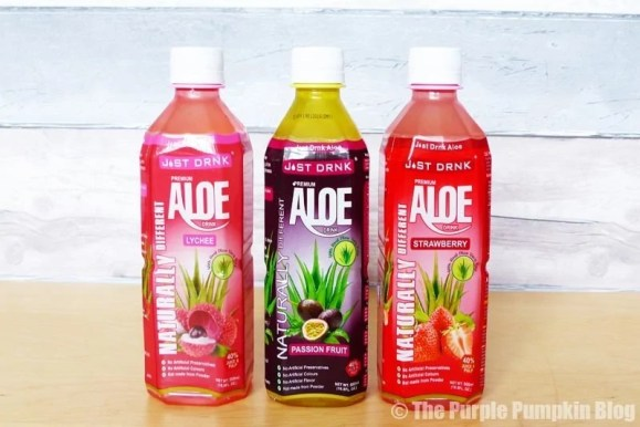 Just Drink Aloe Drinks