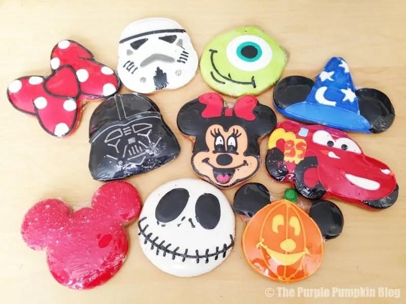 Disney Character Cookies