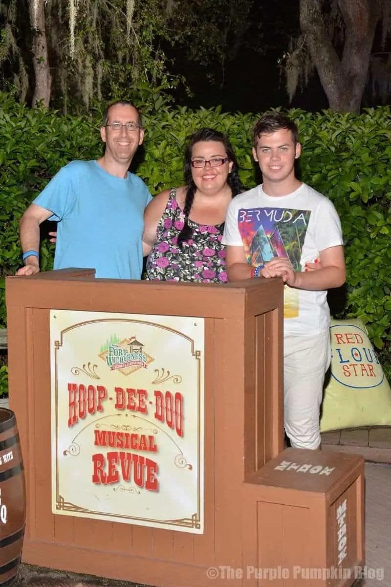 Hoop-Dee-Doo Revue Family Photo
