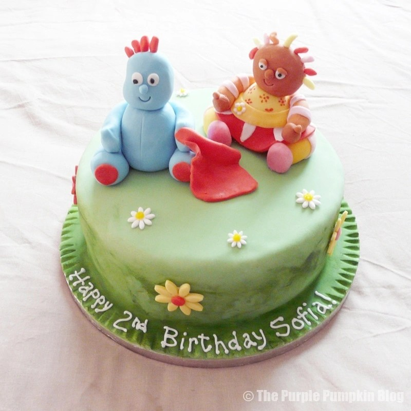 In The Night Garden Themed Birthday Cake