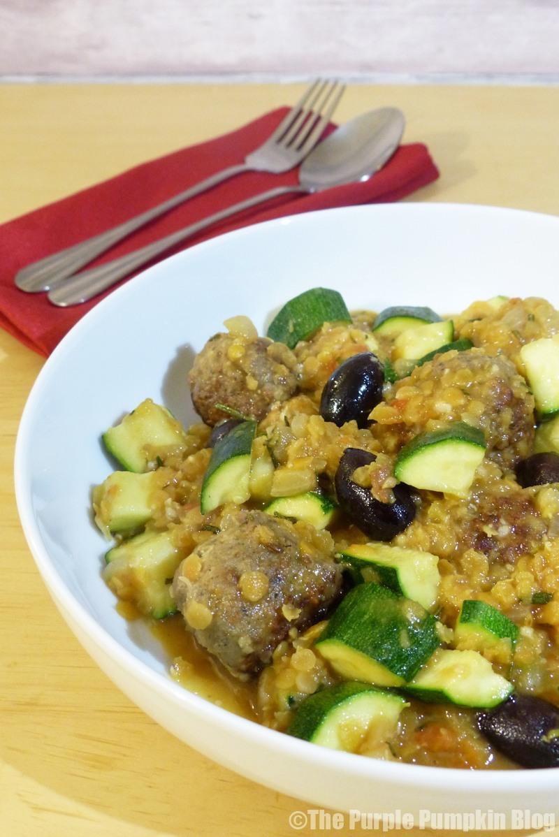 Lamb Meatballs and Lentils - Riverford Recipe Box