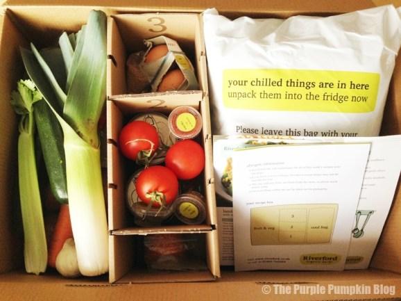 Riverford Organic Farms Receipe Box Review