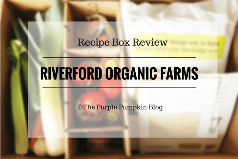 Riverford Organic Farms - Recipe Box Review