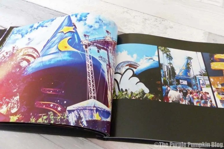 Using Photobox to create a Disney Photobook
