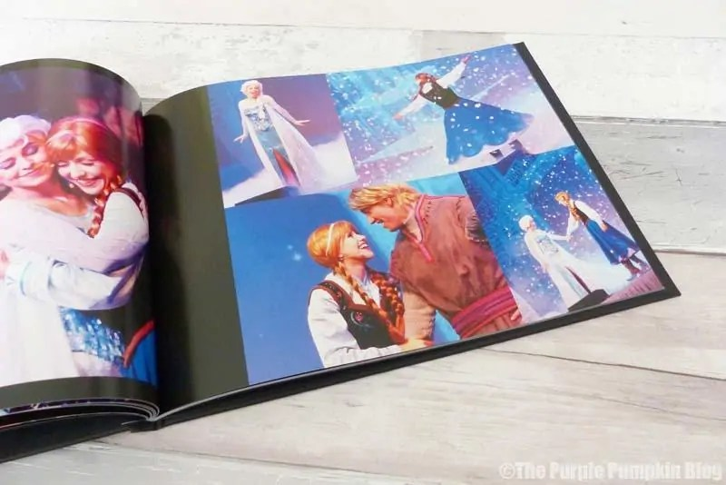 Using Photobox to create a Disney Photobook