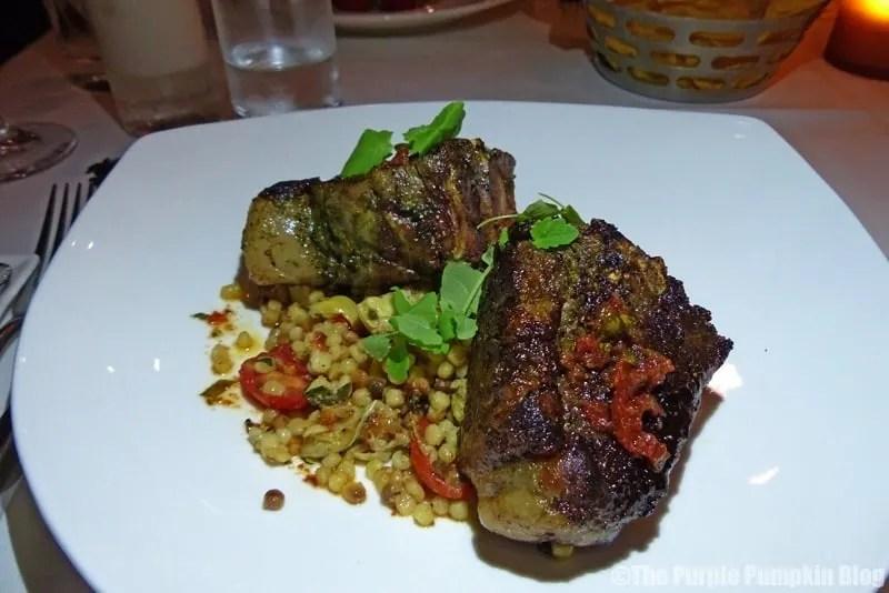 Lamb Porterhouse - California Grill at Disney's Contemporary Resort