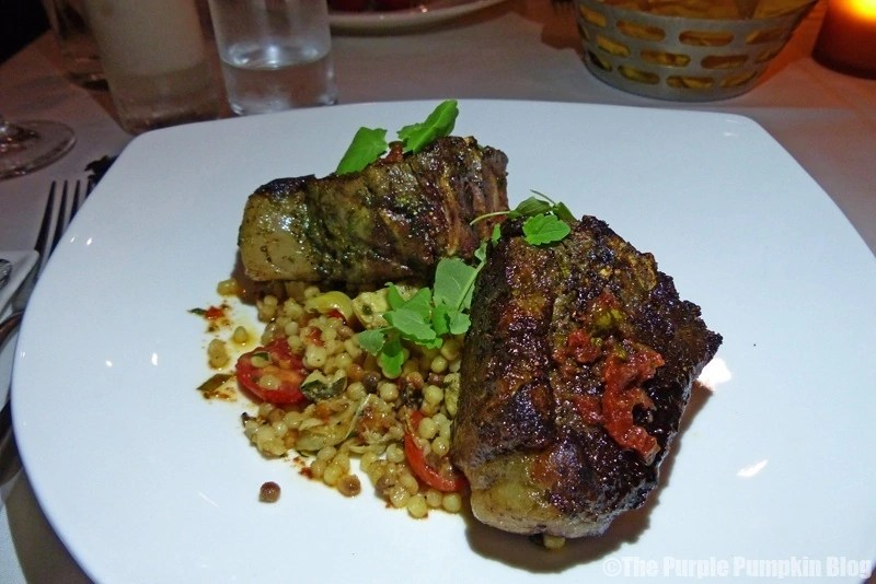 Lamb Porterhouse - California Grill at Disney's Contemporary Resort