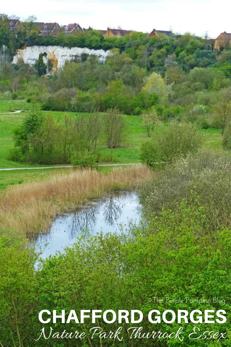 Chafford Gorges Nature Park Thurrock Essex