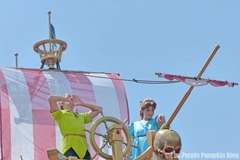 Peter Pan - Festival of Fantasy Parade at Disney's Magic Kingdom