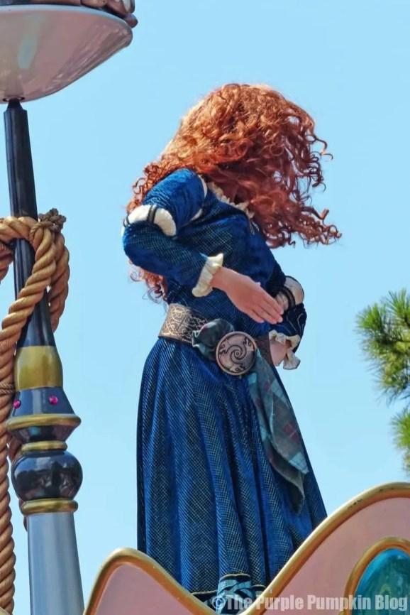 Brave - Festival of Fantasy Parade at Disney's Magic Kingdom