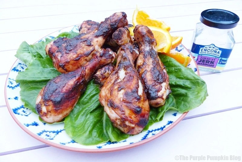 Jamaican Jerk Chicken Drumsticks