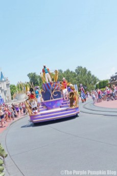 Move It! Shake It! Celebrate It! Street Party Parade at Disney's Magic Kingdom