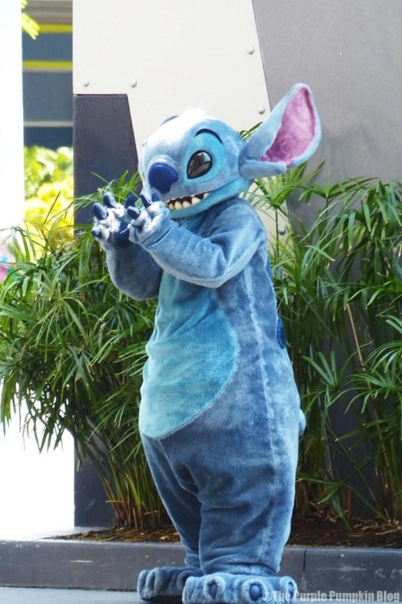 Stitch at Magic Kingdom