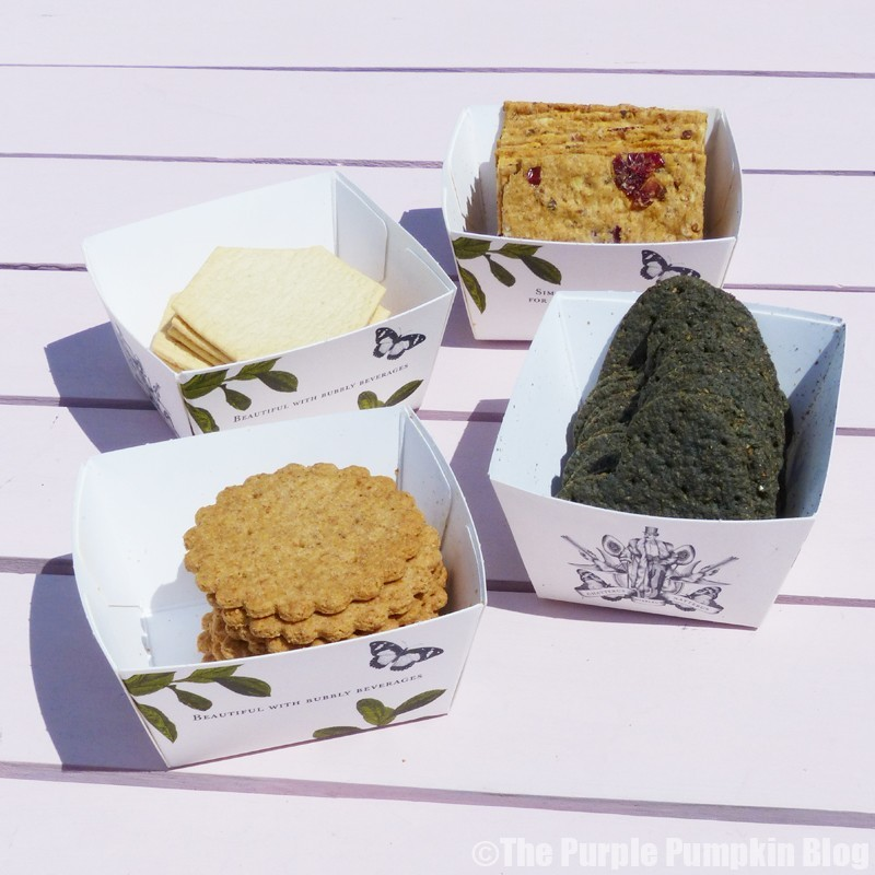 Thomas J Fudges Remarkable Bakery - Many-Shaped Miscellany Of Biscuits For Cheese