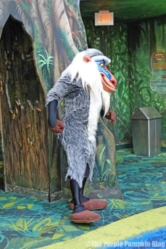 Meeting Rafiki at Animal Kingdom