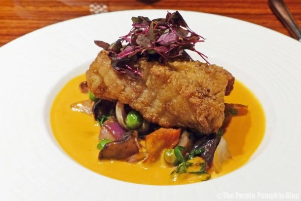 Maize-Crusted Monkfish at Jiko - The Cooking Place