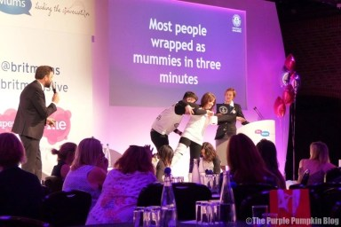 Guinness World Record Attempt - Most People Wrapped as Mummies in Three Minutes