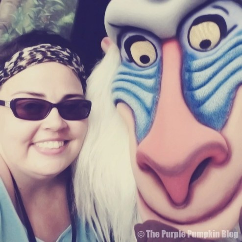 Me with Rafiki at Animal Kingdom