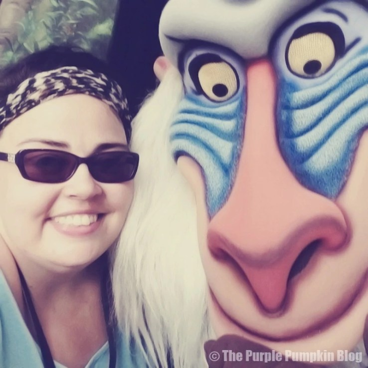 Me with Rafiki at Animal Kingdom