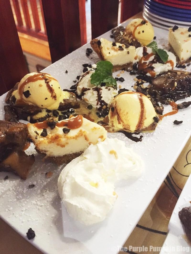 Bubba Gump Shrimp Co. London - Desserts