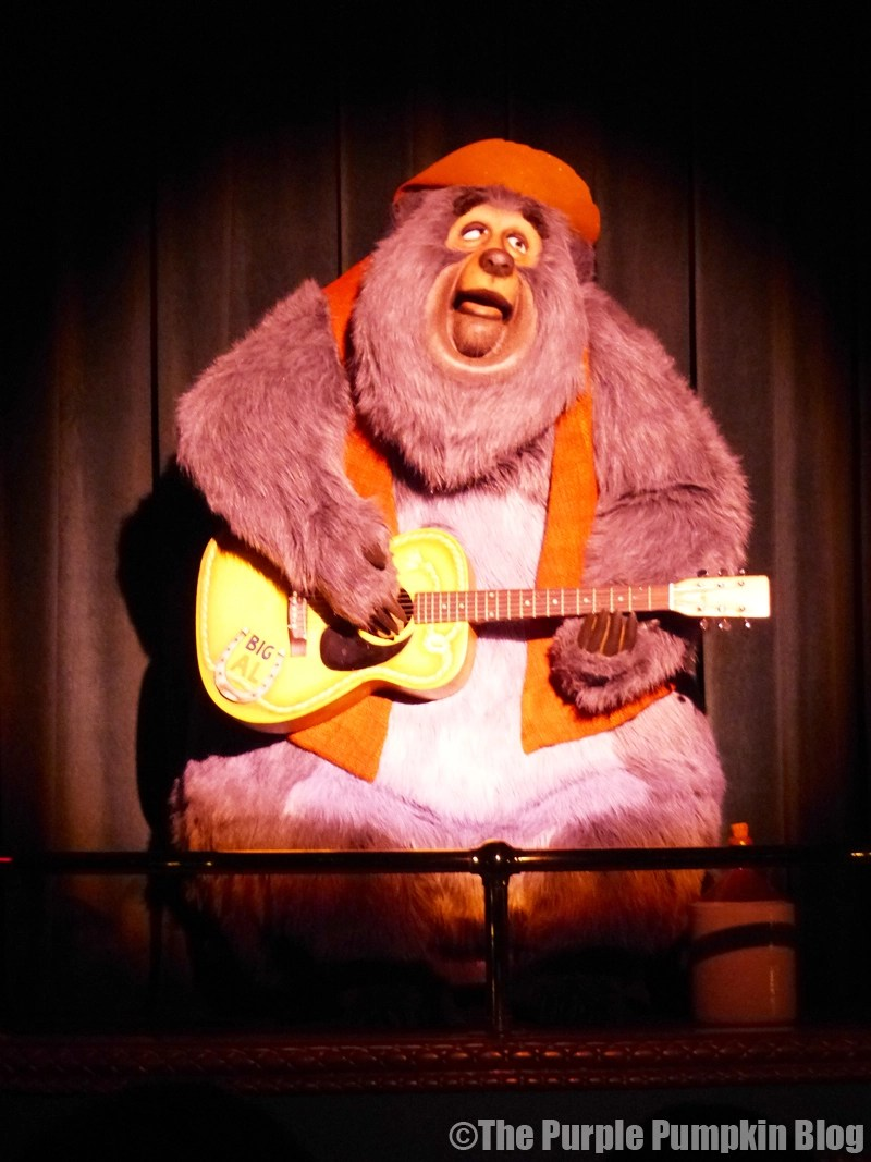 Country Bear Jamboree - Frontierland, Magic Kingdom, Walt Disney World - Big Al