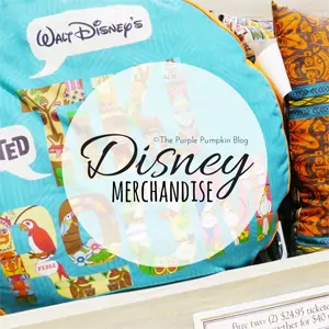 Disney Merchandise on The Purple Pumpkin Blog