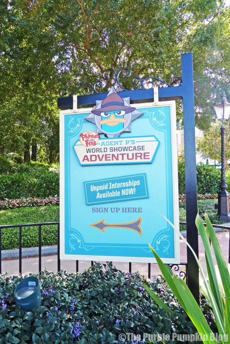 Disney Phineas and Ferb Agent P's World Showcase Adventure