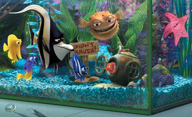 Finding Nemo - Fish Tank
