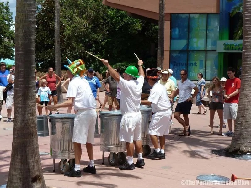 JAMMitors at Epcot Future World East