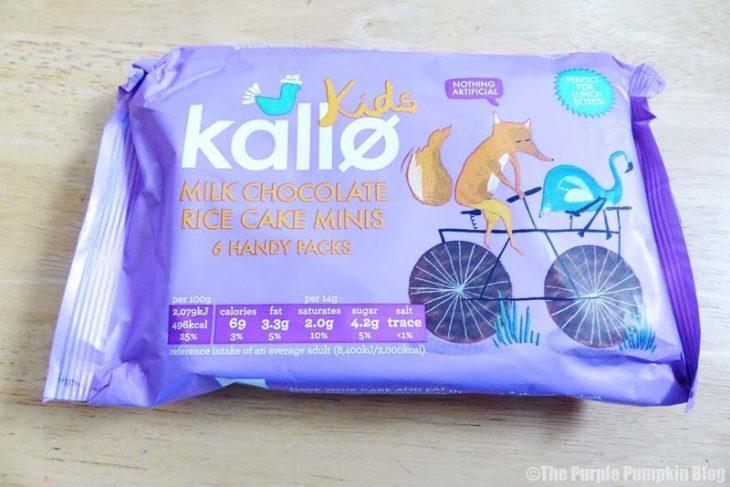 Kallo Kids Milk Chocolate Rice Cake Minis