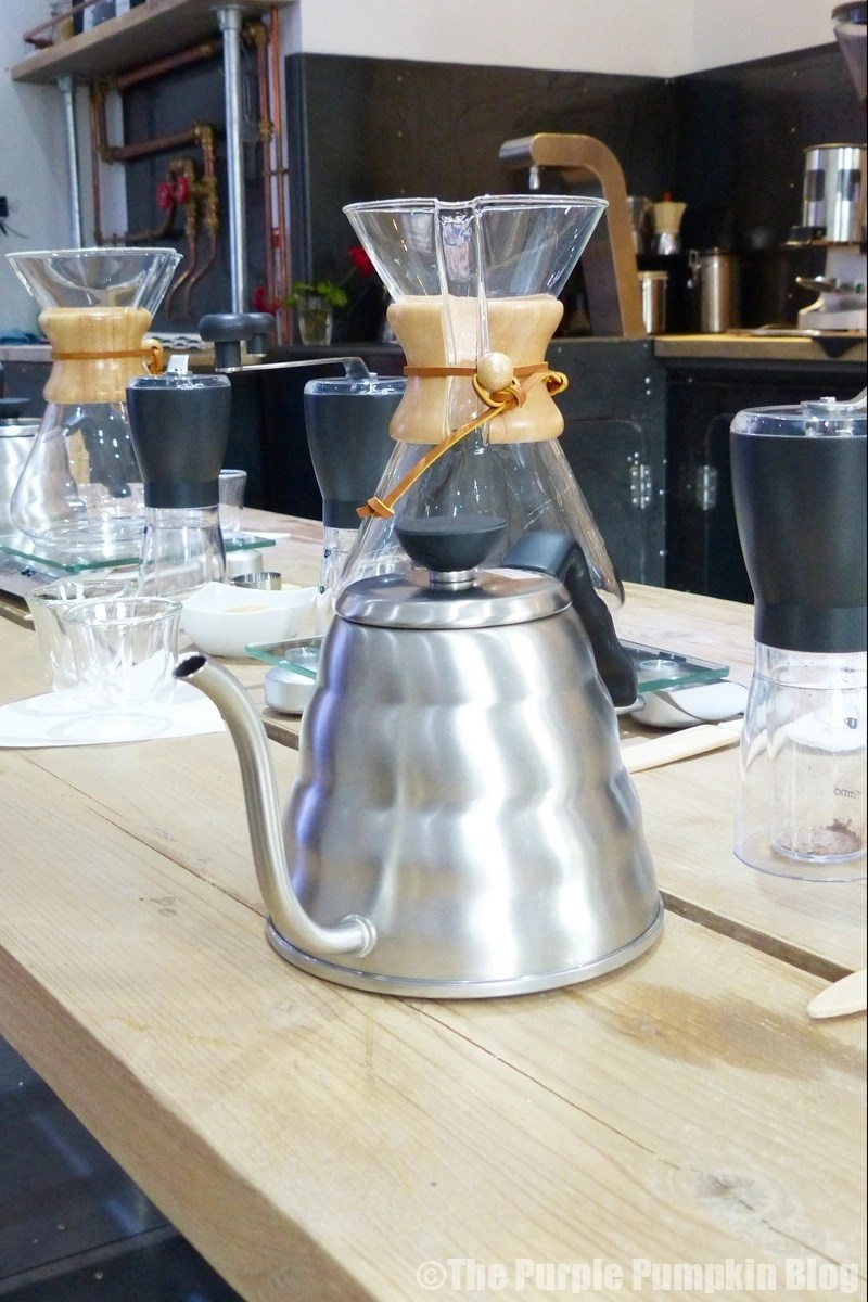 Learning How To Use A Chemex CoffeeMaker