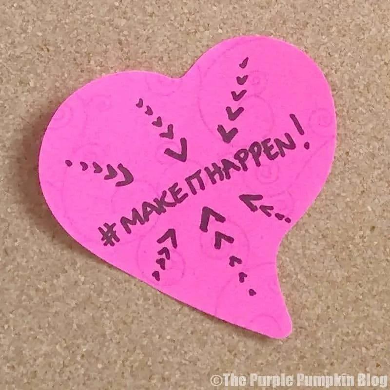 Make It Happen Post-It Note