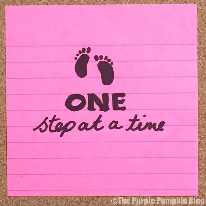 One Step At A Time - Make It Happen