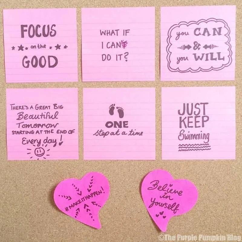 Positivity Board - Make It Happen