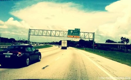 Road Signs in Orlando - Off Ramp